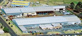 Great Western Manufacturing's extensive Toowoomba manufacturing facility