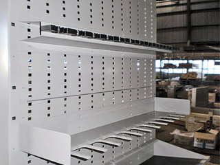 Weapons Storage rack manaufactured by Great Western Manufacturing
